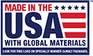 Made in the USA with Global Materials