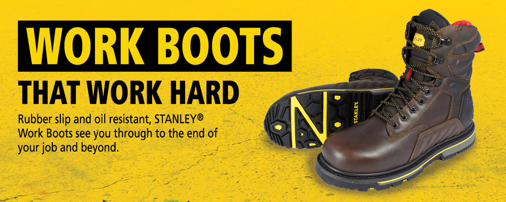 Stanley Boots |Global Construction Supply