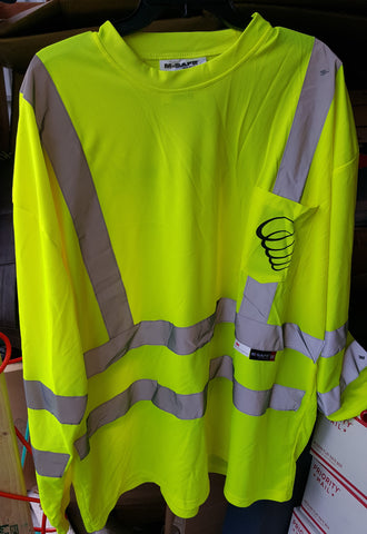 Custom Safety Shirt Whirlwind |Global Construction Supply