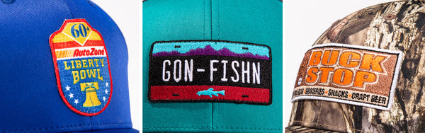 Pacific Headwear Custom Embroidered Patches | Global Construction Supply