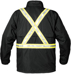 BACK VIEW TPX-2R MEN'S EXPLORER 3-IN-1 REFLECTIVE JACKET
