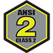 ANSI/ISEA 107-2010 Class 2 Standards: Background Fabric: 775 Square Inches Reflective Material: 201 Square Inches Minimum Reflective Width: 1.37 Inches