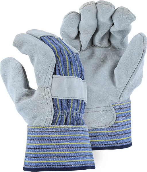 Majestic 1501A Split Cowhide Leather Palm Work Gloves (DOZEN) - Global Construction Supply