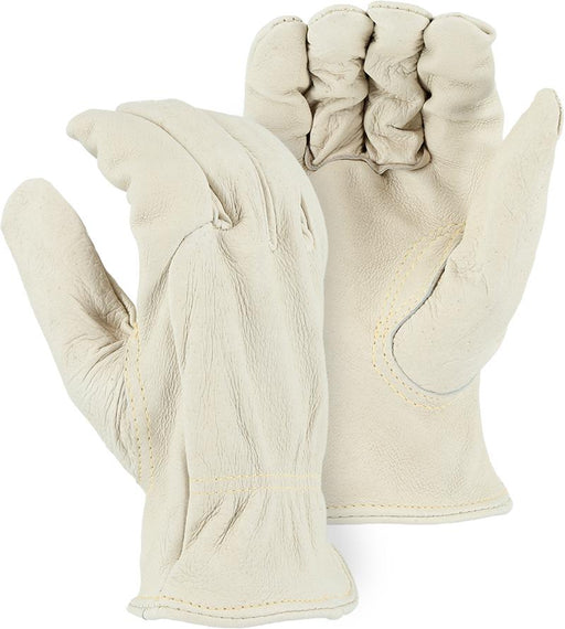 Majestic 1510PK Heavyweight Pigskin Leather Driver Gloves Kevlar Sewn (DOZEN) - Global Construction Supply