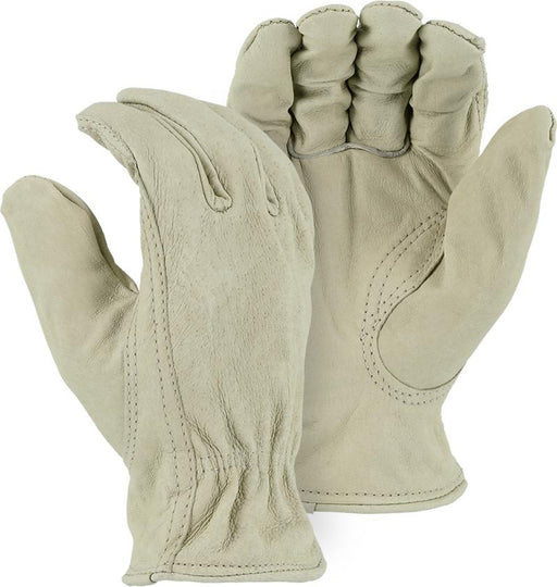 Majestic 1510P Pigskin Leather Driver Gloves (DOZEN) - Global Construction Supply