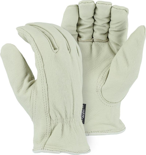 Majestic 1511PT Pigskin Leather Driver Gloves Thinsulate Lined (DOZEN) - Global Construction Supply