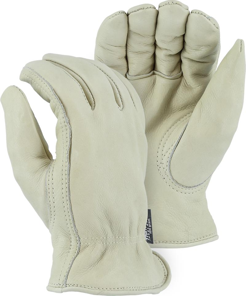 Majestic 1511T Cowhide Leather Driver Gloves,Thinsulate Lined (DOZEN) - Global Construction Supply