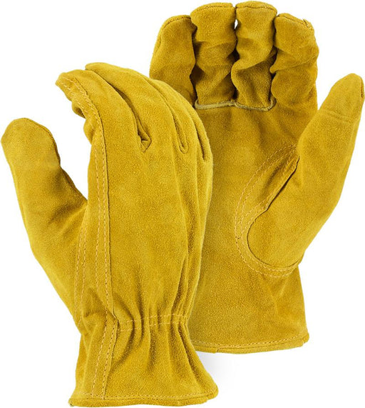 Majestic 1512B Split Cowhide Leather Driver Gloves (DOZEN) - Global Construction Supply