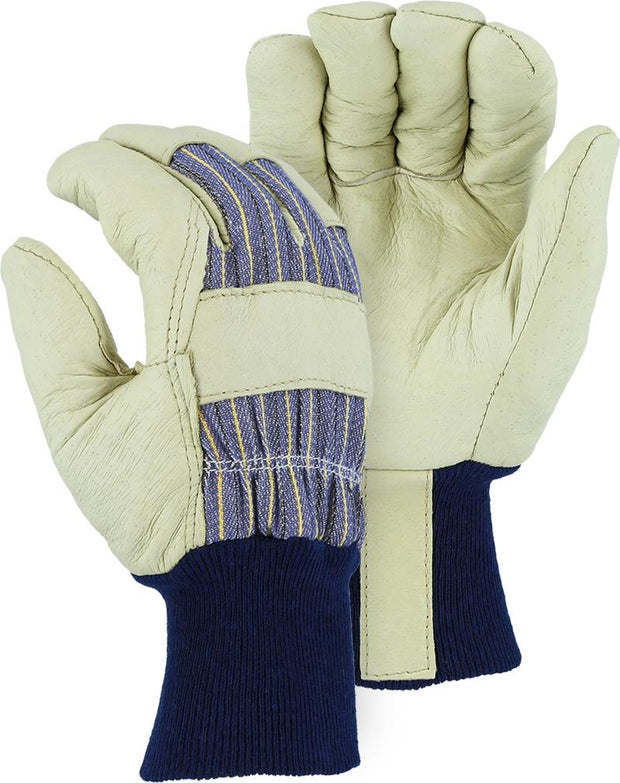 Majestic 1521 Winter Lined Pigskin Leather Palm Work Glove (DOZEN) - Global Construction Supply