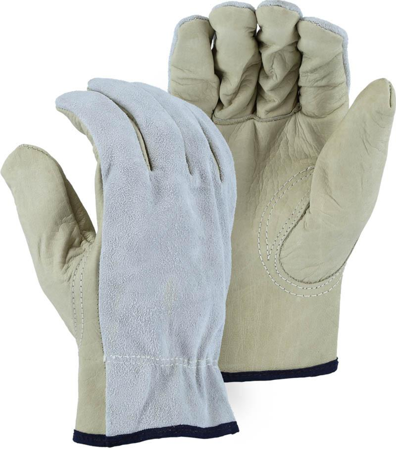 Majestic 1533 Top Grain Cowhide Leather Driver Gloves (DOZEN) - Global Construction Supply