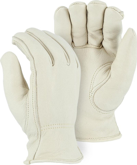 Majestic 1540 Gemsbok Leather Winter Driver Gloves Pile Lined (DOZEN) - Global Construction Supply