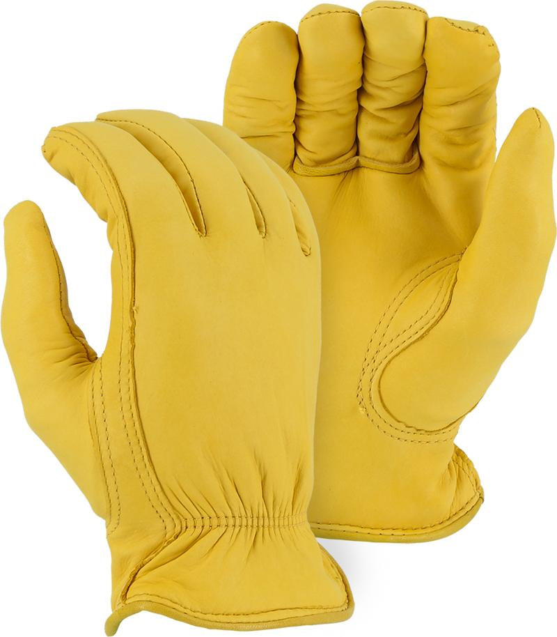 Majestic 1542T Deerskin Leather Driver Gloves Thinsulate Lined (DOZEN) - Global Construction Supply