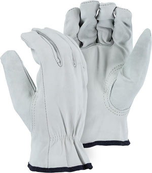 Majestic 1554K Goatskin Leather Driver Gloves (DOZEN)