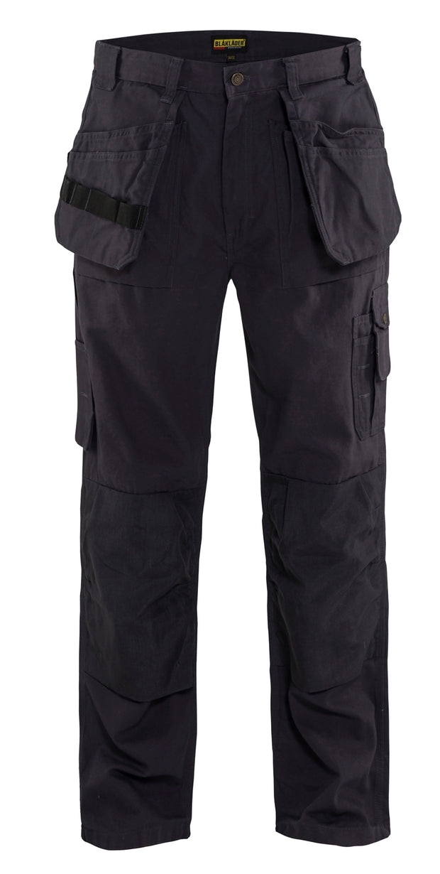 Blaklader Steel Blue Bantam Work Pants with Utility Pockets 1630