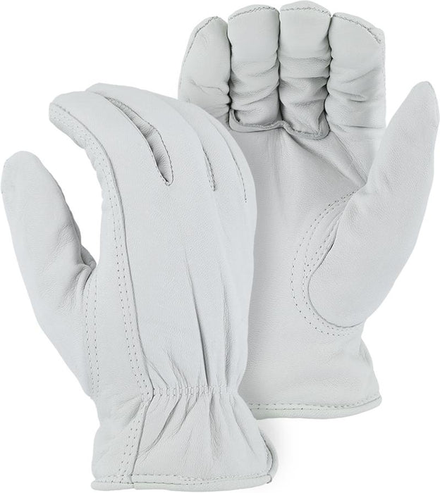 Majestic 1655T Goatskin Leather Driver Gloves Thinsulate Lined (DOZEN) - Global Construction Supply