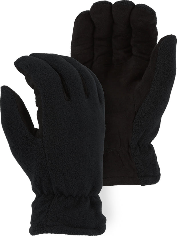Majestic 1668 Winter Lined Fleece & Split Deerskin Glove (DOZEN)