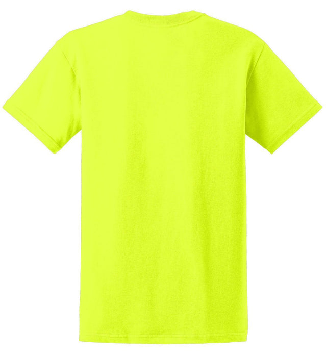 Gildan 2000 Ultra Cotton Hi Vis Safety Green, Safety Orange, Safety Pink - Global Construction Supply