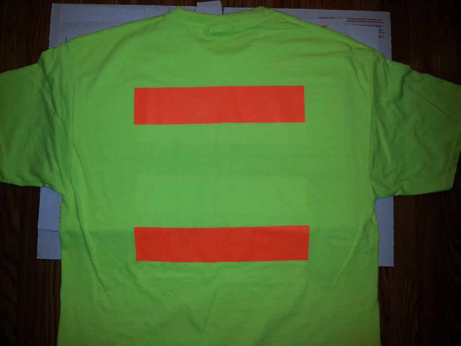 Port & Company PC55S Hi Vis Safety T-Shirt with Stripes: Global Construction Supply