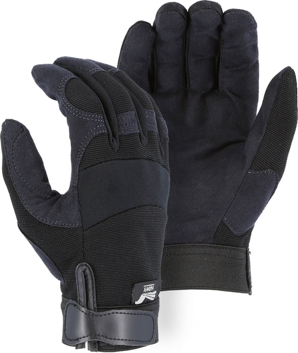 Majestic 2137BK Armor Skin™ Hawk Mechanics Glove with Knit Back (DOZEN)