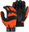 Majestic 2139HO Hi-Vis Orange Armor Skin Mechanics Glove with PVC Double Palm (DOZEN)