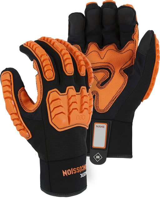 Majestic 21472BK Armor Skin™ Mechanics Glove with D3O® (DOZEN)