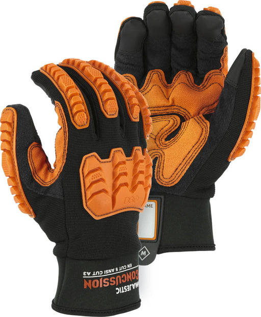Majestic 21475BK Cut Resistant Mechanics Glove with D3O® (DOZEN)