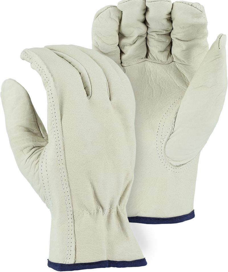 Majestic 2510B Industrial Grade Cowhide Leather Driver Gloves (DOZEN) - Global Construction Supply