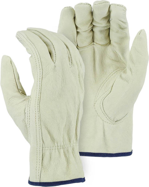 Majestic 2510P Industrial Grade Pigskin Leather Driver Gloves (DOZEN) - Global Construction Supply