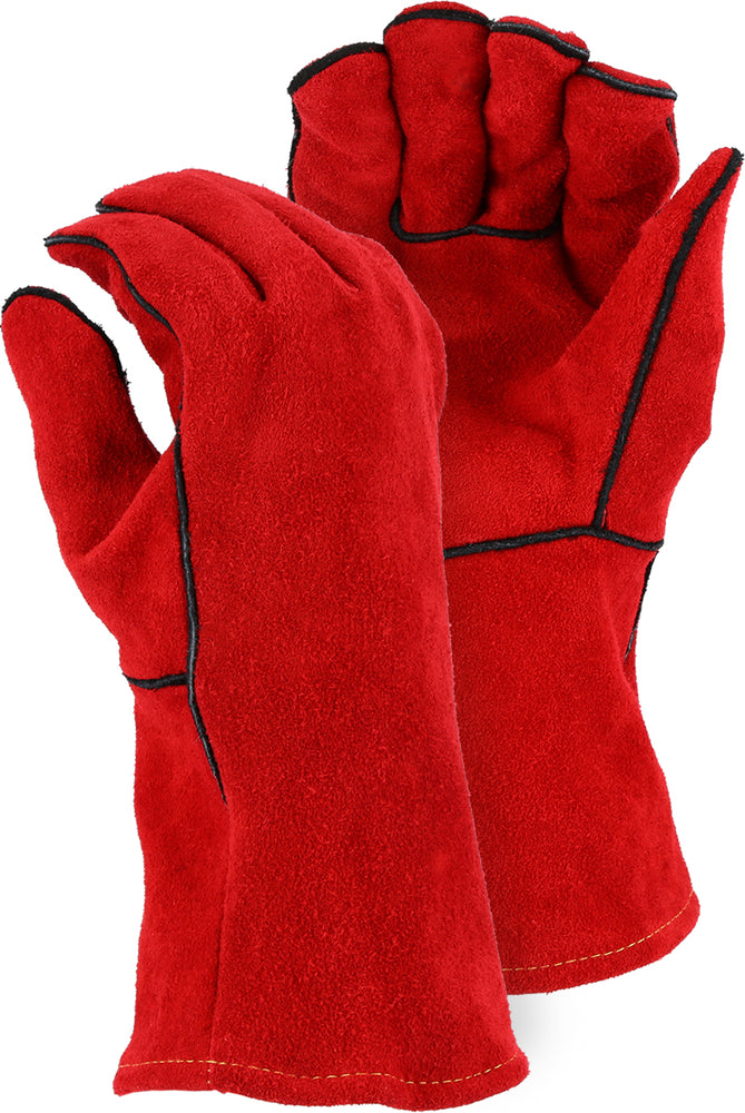 Majestic 2514A Leather Welders Glove (DOZEN)