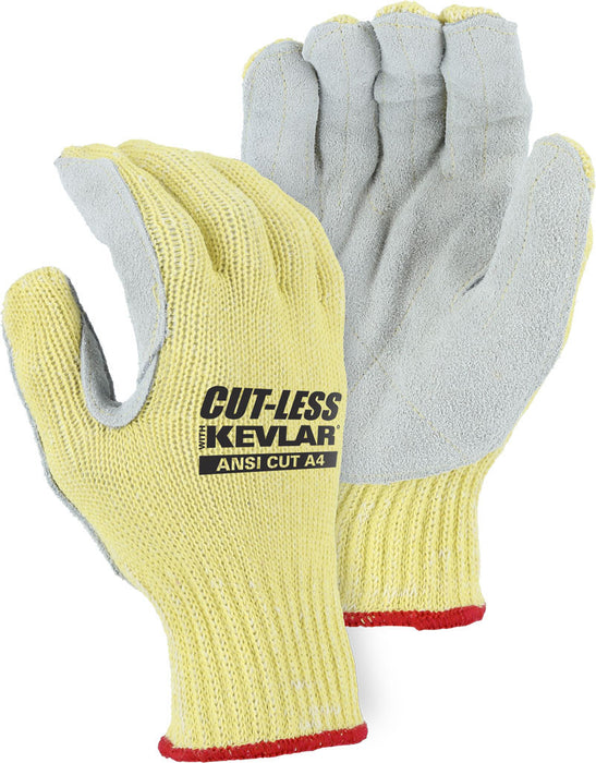 Majestic 3120 Cut-Less Kevlar® with Leather Palm (DOZEN)