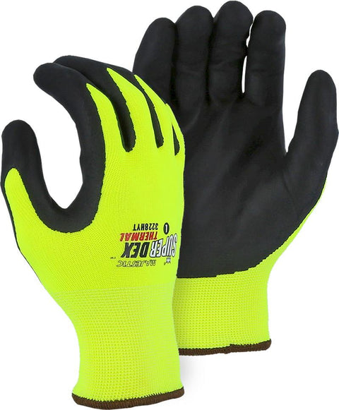 Majestic 3228HYT SuperDex Cold Weather Insulated Hi Vis Yellow Gloves (DOZEN) - Global Construction Supply