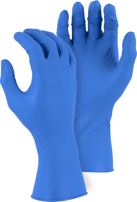 Majestic 3352AB Disposable Gloves with Embossed Fish Scale Pattern (CASE)