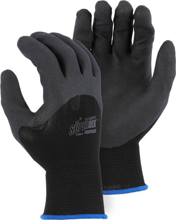 Majestic 3369 SuperDex 13-gauge Palm/Knuckle Dipped Gloves Hydropellent (DOZEN)
