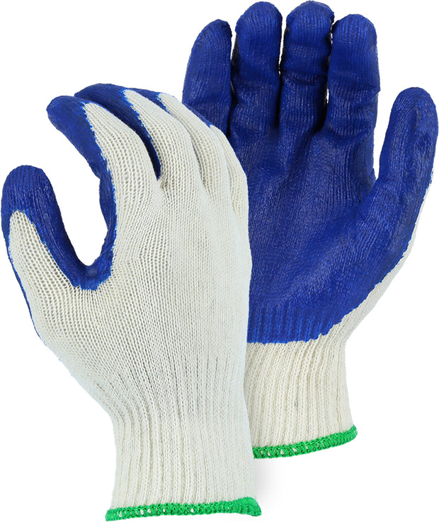 Majestic 3379 Latex Palm Coated Glove on String Knit Liner (DOZEN)