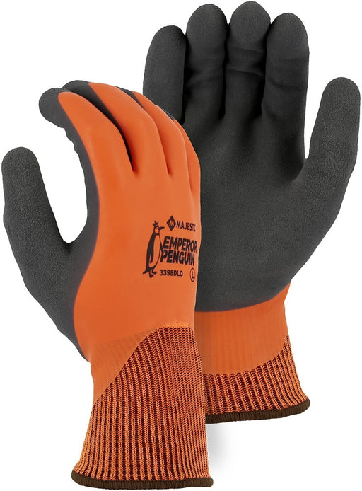 Majestic 3398DLO Winter Lined Nylon w Closed-Cell Sandy Latex Palm (DOZEN)