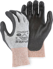 Majestic 3437 Cut Resistant Gloves Dyneema 13-gauge Polyurethane Palm (DOZEN): Global Construction Supply