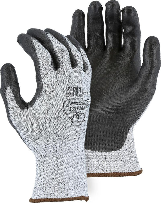 Majestic 35-1500 HPPE Cut-Less WatchDog Cut Resistant Gloves PU Palm Cut 5 (DOZEN): Global Construction Supply