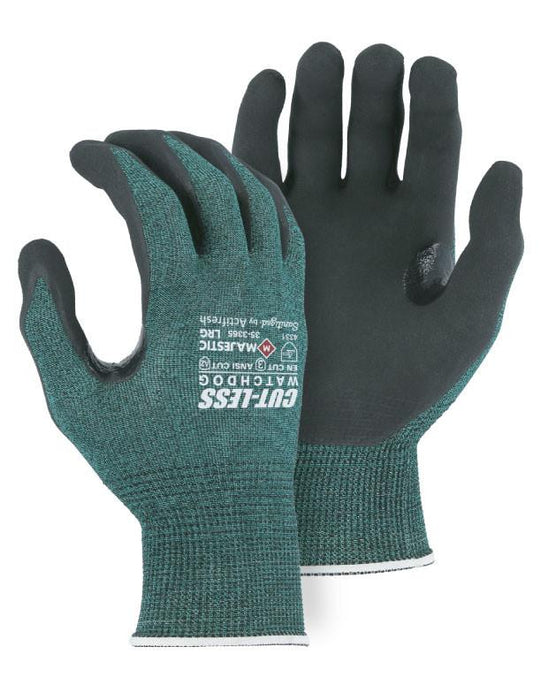 Majestic 35-3365 Cut-Less WatchDog Cut Resistant Gloves with Extreme Grip (DOZEN): Global Construction Supply