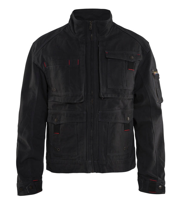 Black Blaklader Brawny Canvas Jacket 4062