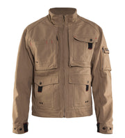 Antique Khaki Blaklader Brawny Canvas Jacket 4062