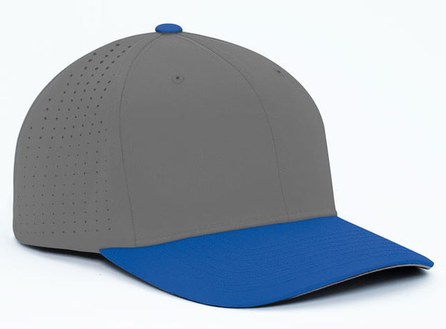 Custom Embroidered Pacific Headwear 474F Perforated F3 Performance Flexfit Hat