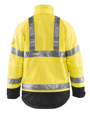 Hi-Vis Yellow Safety Jacket Blaklader Hi-Vis Winter Jacket 4927