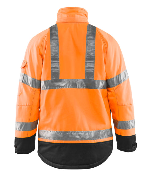 Hi-Vis Orange Safety Jacket Blaklader Hi-Vis Winter Jacket 4927