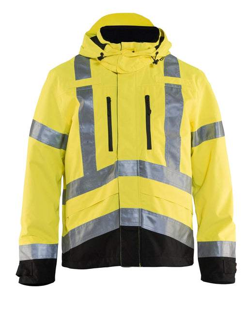Hi-Vis Yellow Safety Jacket Blaklader Hi-Vis Shell Jacket 4937