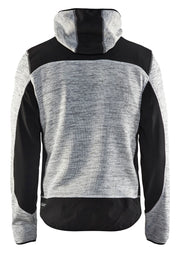 Grey Melange/Black Blaklader Knitted Jacket 4940