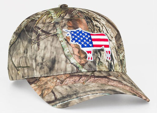 Sample Image Color BreakUpCountry Pacific Headwear 690C Mossy Oak® True Timber® Hook-and-Loop Hat