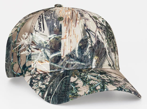 Custom Embroidered Pacific Headwear 690C Mossy Oak® True Timber® Hook-and-Loop Hat