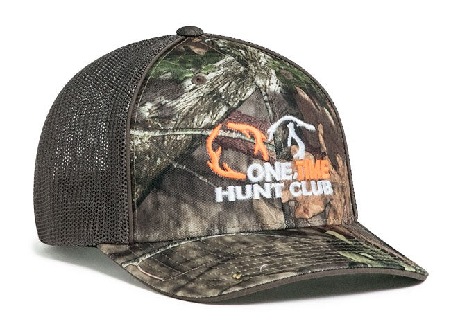 Sample Image Color Break-Up Country/Chocolate Pacific Headwear 694M Mossy Oak® Trucker Mesh Stretch-Fit Hat