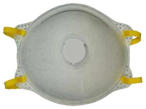 Majestic 74-906 Cone Respirator with Valve N95 Approved (CASE): Global Construction Supply