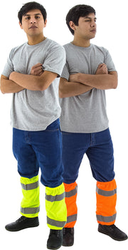 Majestic 75-2391, 75-2392 High Visibility Leg Gaiters ANSI Class E: Global Construction Supply
